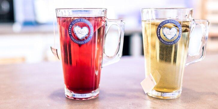 Zdravé čaje a drinky z IOVY v 1. vodnom bistre na svete