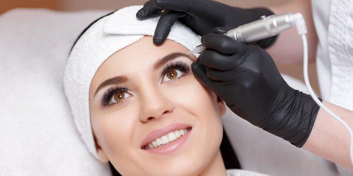 Permanentný make-up pier alebo obočia