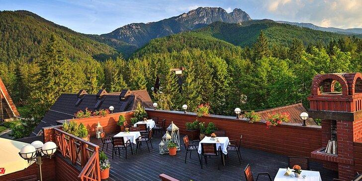 LETNÝ prvotriedny luxus v hoteli Belvedere**** v Zakopanom
