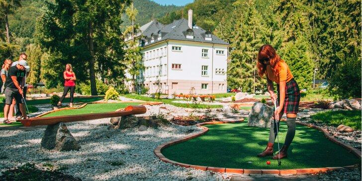 Letný pobyt pre 2 osoby s wellness, masážou a športovými aktivitami v Hoteli Skalka*** Rajecké Teplice