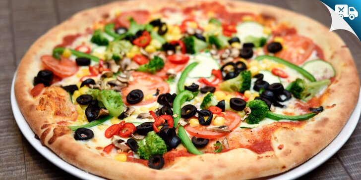 Donáška alebo take away: Pizza pečená na dreve