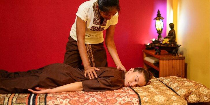 Thajská klasická alebo thajská olejová masáž v Nuat