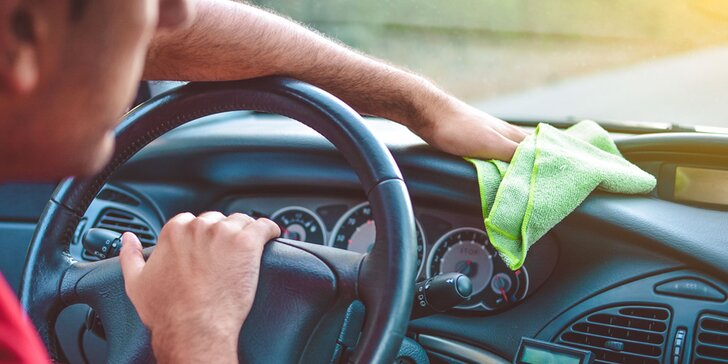 Kompletné čistenie vášho auta zvonku i zvnútra