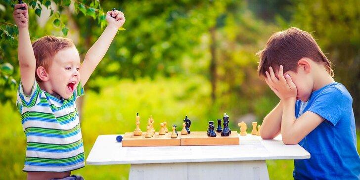 Zábavný denný letný šachový tábor