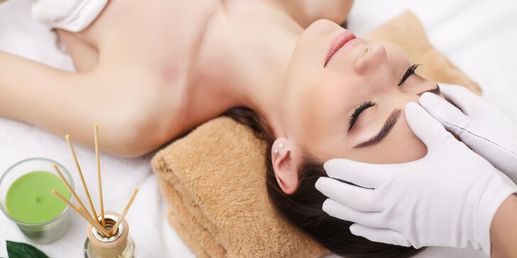 Kozmetické ošetrenie alebo masáž tváre v In-Dama salóne
