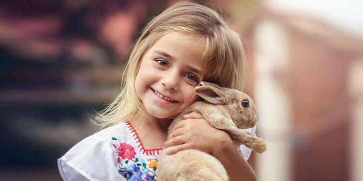 Navštívte s deťmi zvieratká na Minifarme v Lubine