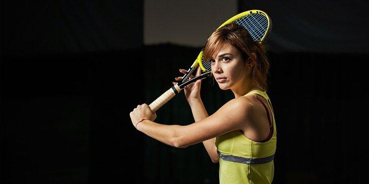 Prenájom tenisového kurtu s vybavením pre až 4 osoby