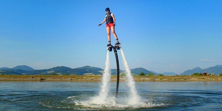 Zažite jedinečné vodné šialenstvo - JetBlade či X-Jetpacks!