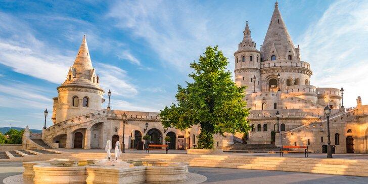 Čarovná Budapešť: tropicarium, kúpele a pamiatky