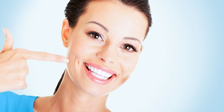 Dentálna hygiena, pieskovanie alebo bielenie zubov
