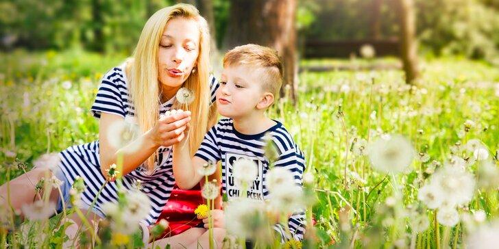 Fotografovanie detí a rodín s deťmi v exteriéri či ateliéri