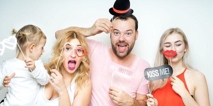 Kreatívne a zábavné fotky z každej party! FUTURE Fotokútik