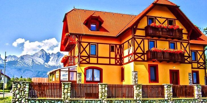 Pobyt v príjemnom rodinnom penzióne BAĎO*** priamo pod Lomnickým štítom