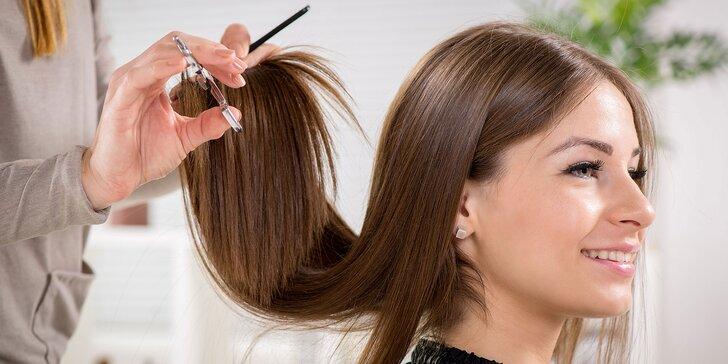 Regenerácia a natočenie vlasov, botoxová maska, ombré alebo sombré