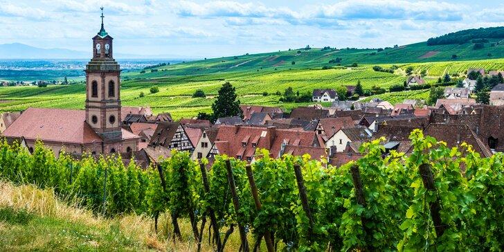 Výlet do Francúzska - Alsasko, jeho história a víno