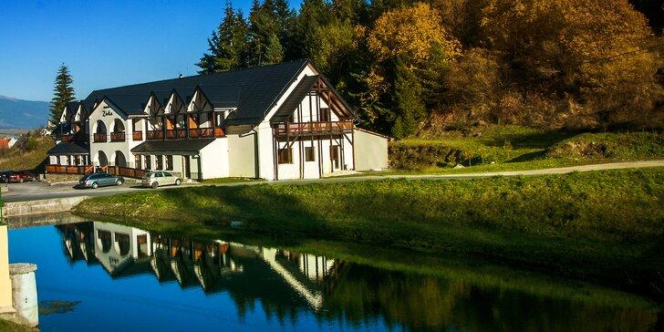 Jesenný pobyt na Liptove s možnosťou aquaparku alebo s relaxom vo wellness centre
