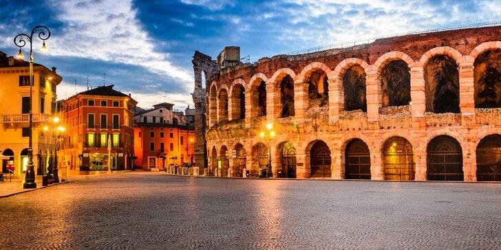 Mestá severného Talianska a operný festival vo Verone