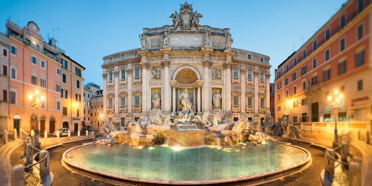 Večné mesto Rím a najmenší štát sveta Vatikán
