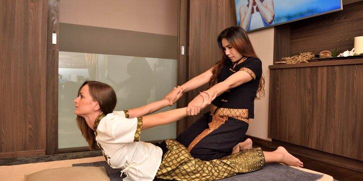 Thajské masáže v novootvorenom masážnom salóne