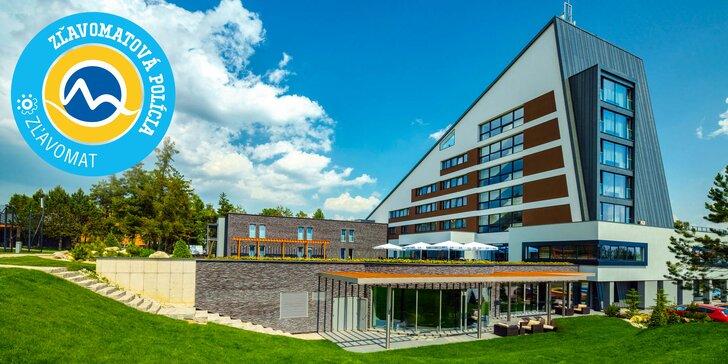 Najmodernejší wellness hotel HORIZONT Resort**** s extra vstupom do vodného a saunového sveta AquaCity Poprad