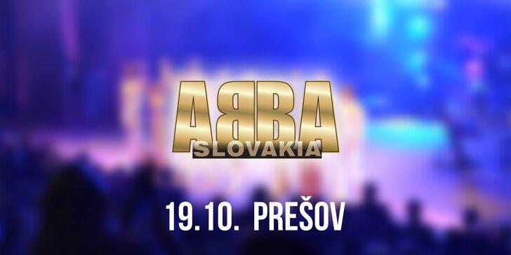 Vstupenky na koncert ABBA SLOVAKIA TOUR Prešov!