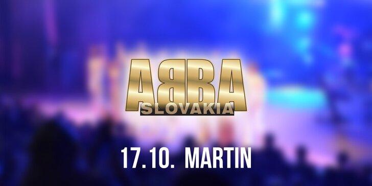 Vstupenky na koncert ABBA SLOVAKIA TOUR Martin!