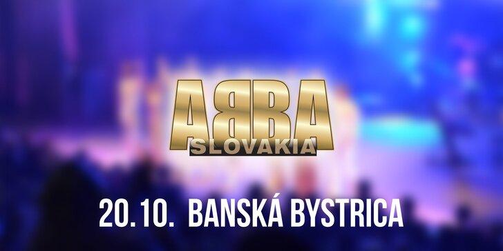 Vstupenky na koncert ABBA SLOVAKIA TOUR Banská Bystrica!