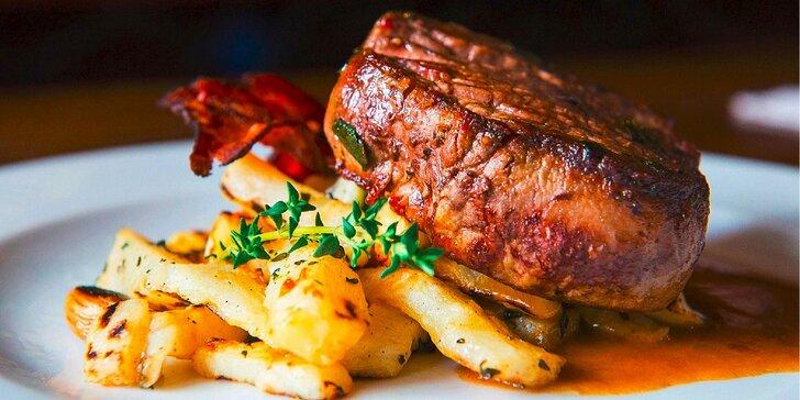 3 druhy výborných hovädzích steakov v Modrej Hviezde