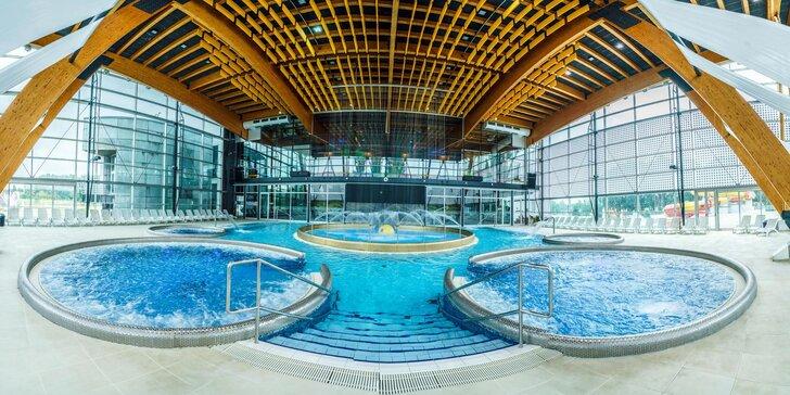 Jeseň pod Tatrami v hoteli v AquaCity Riverside*** s neobmedzeným vstupom do Aquaparku + vstup do Fire & Water Wellness & Spa Centra AquaCity Poprad