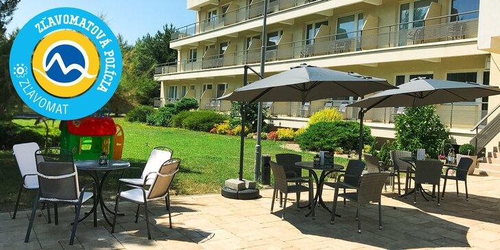 Ubytovanie a raňajky v Hoteli Perla*** pri jazere Zelená voda
