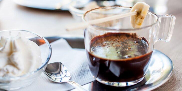 Degustačné čokoládové menu alebo horúca čokoláda