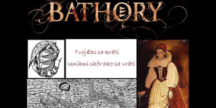 90 minútová escape room s historickým príbehom Bathory!