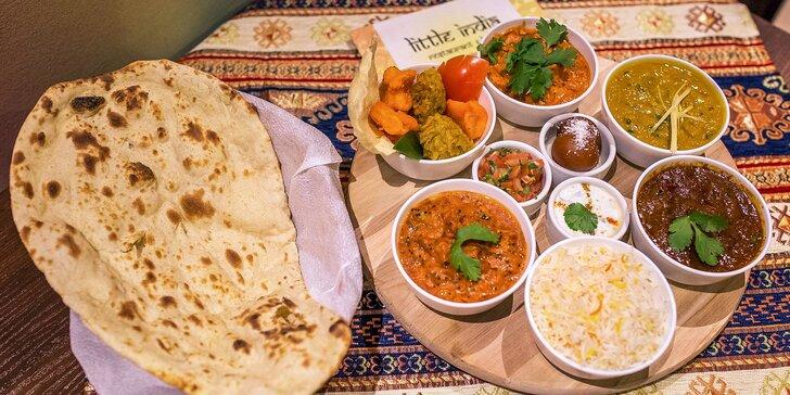 Veľký indický tanier pre 2 osoby