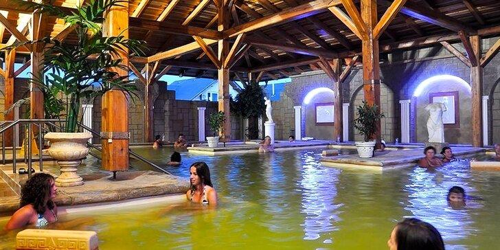 Pobyt v penzióne Podhájska a vstupmi do Rímskych kúpeľov alebo wellness Aquamarin