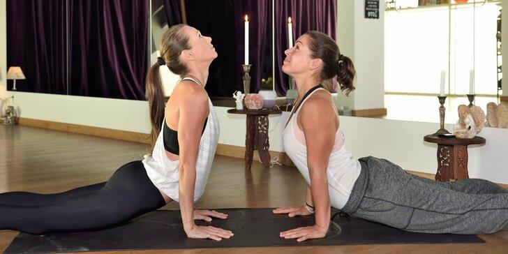 Vstupy na cvičenia jogy v štúdiu Space yoga