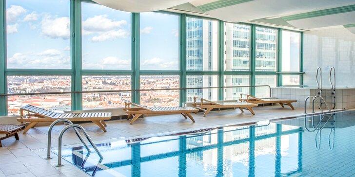 Jedinečné ubytovanie a wellness v Panorama Hotel Prague****