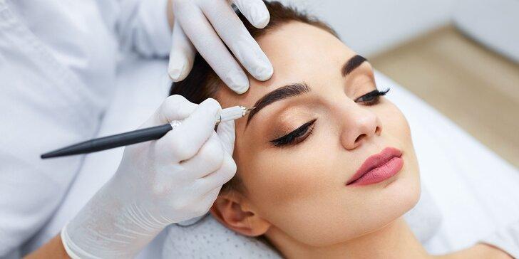 Permanentný make up obočia a pier v Salóne Wanda