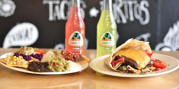 Mexické menu pre 1 alebo 2 osoby vo Fresh markete v TACO GATO