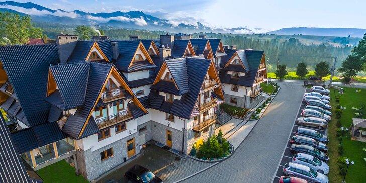 Luxusný pobyt v hoteli Sądelski Dwór **** pri Zakopanom