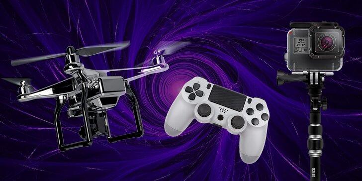 Zapožičanie herných konzol, kamery alebo drona od TOYS4BOYS