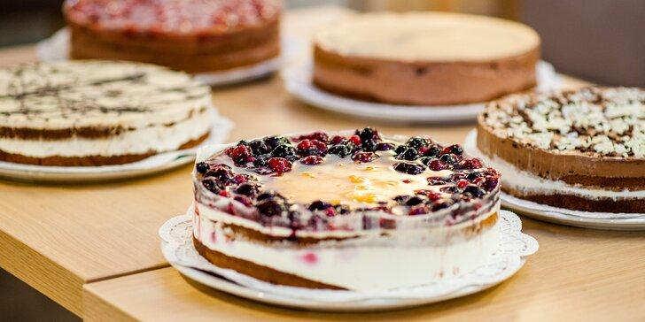 Chutné torty z kvalitných surovín podľa vášho výberu