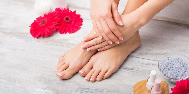 Kombinácia medicínskej a mokrej pedikúry či wellness pedikúra