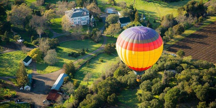 Vyhliadkový let balónom - celá obloha patrí iba vám!
