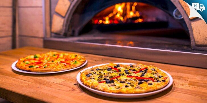 Klasická pizza v HAPPY HOURS alebo počas celého dňa - na výber z 8 druhov