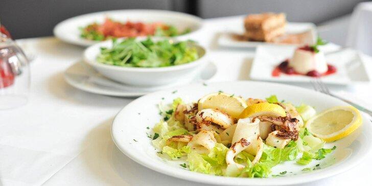 Talianske degustačné menu v reštaurácii Brunos pre 2 osoby
