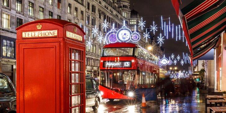 Zájazd do adventného Londýna s návštevou Oxfordu