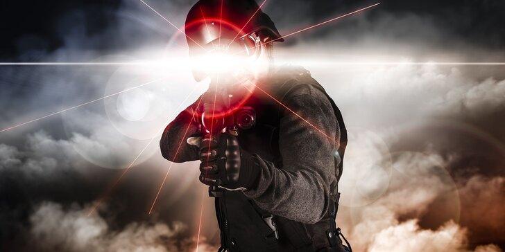 Laserová prestrelka v najväčšej aréne na Slovensku!