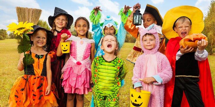 Jesenný detský tábor s témou Halloween