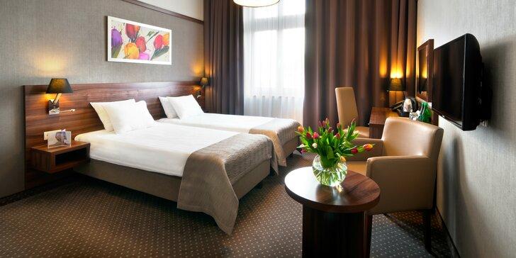 Jedinečný pobyt v centre Krakova pre 2 osoby v Hoteli Golden Tulip Kraków City Center****