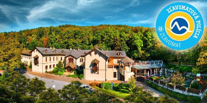 Romantický pobyt s wellness v historickom Hoteli Bankov**** v Košiciach